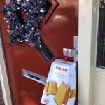 Maina Il Gran Pandora aan mijn voordeur